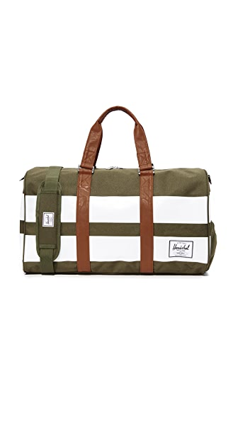Herschel Supply Co. Novel Duffel Bag In Green