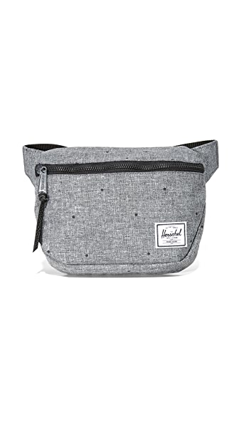 Herschel Supply Co. Fifteen Fanny Pack - Scattered Raven