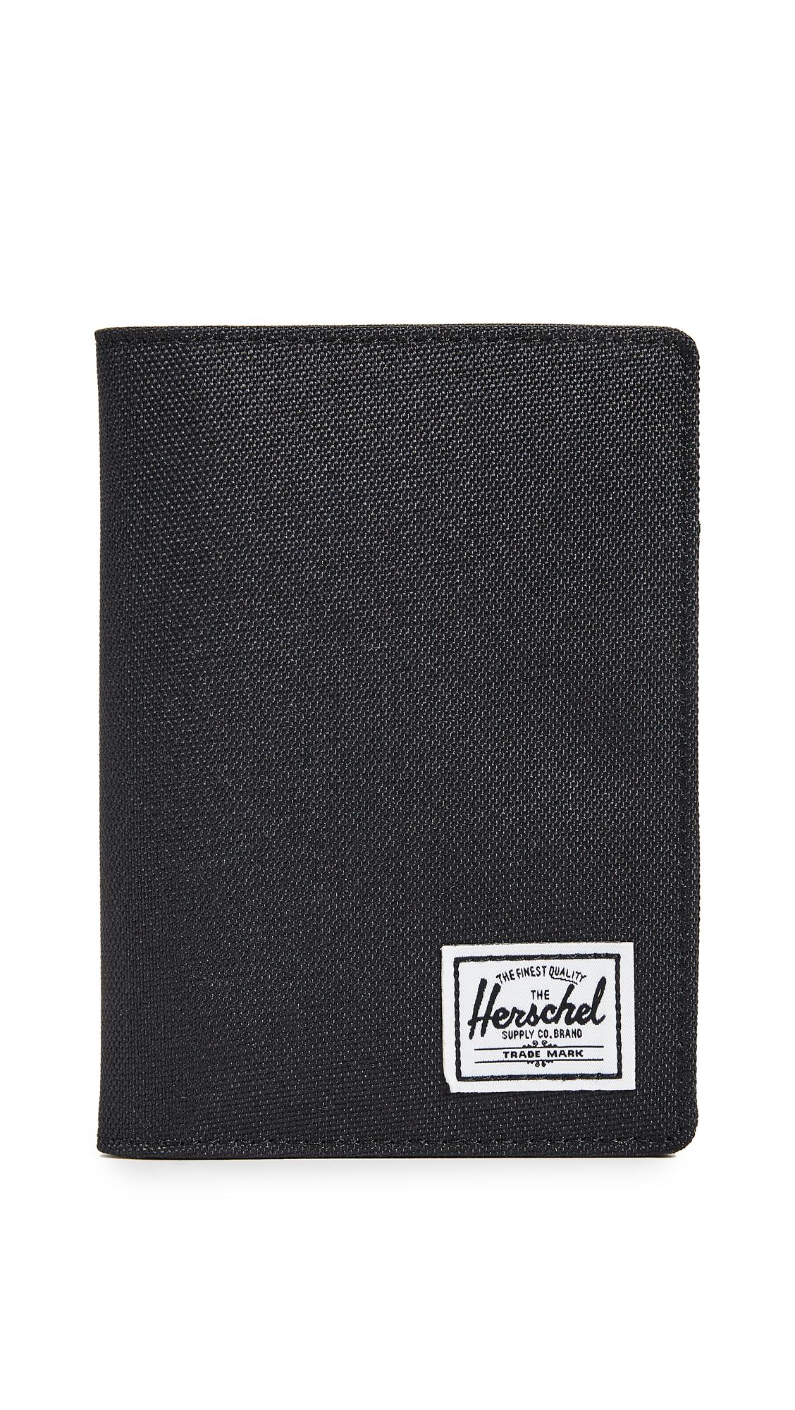 Herschel Supply Co. Raynor Passport Case - Black