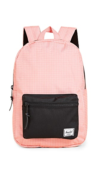Herschel Supply Co. Settlement Mid Volume Backpack In Strawberry Grid
