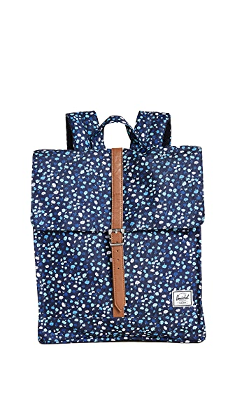 Herschel Supply Co. City Mid Volume Backpack In Mini Floral