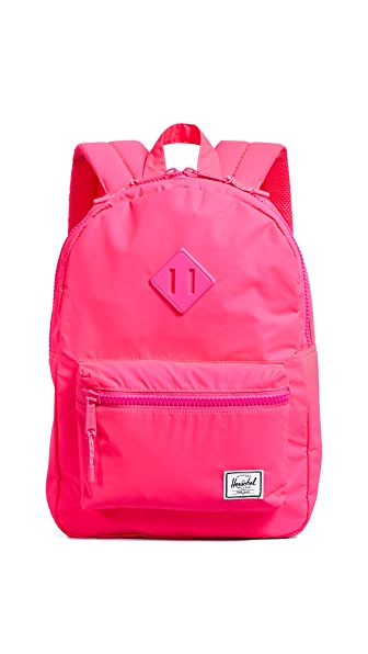 Herschel Supply Co. Heritage Youth Backpack In Hot Pink Reflective