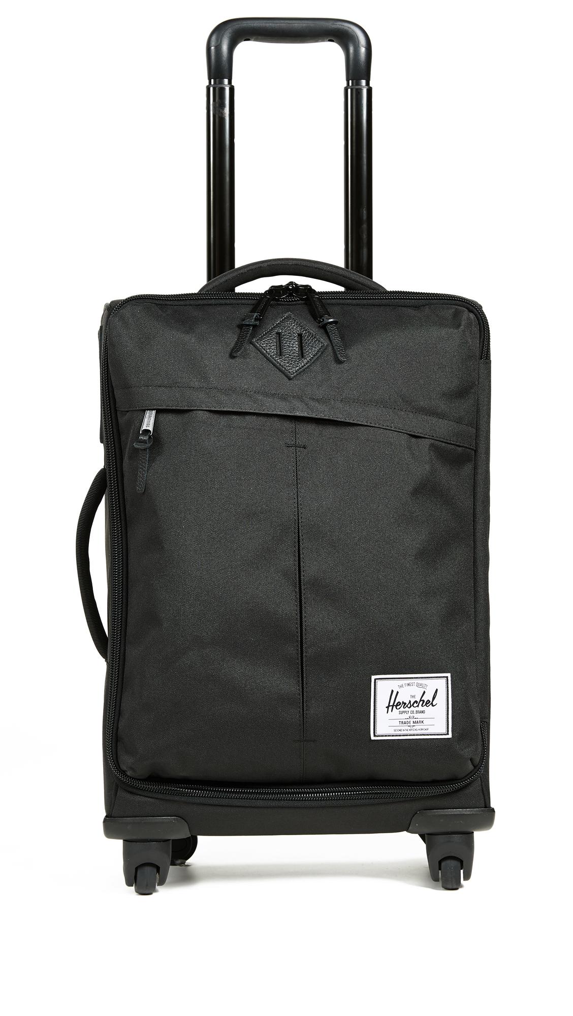 Highland Four Wheel Suitcase, Black