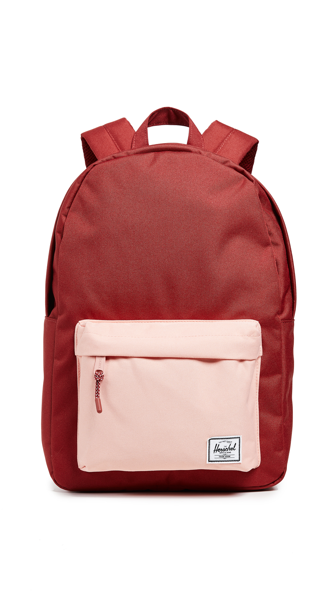 Herschel Supply Co.  Settlement Mid Volume  Backpack - Red In Brick Red  4296d5416733f