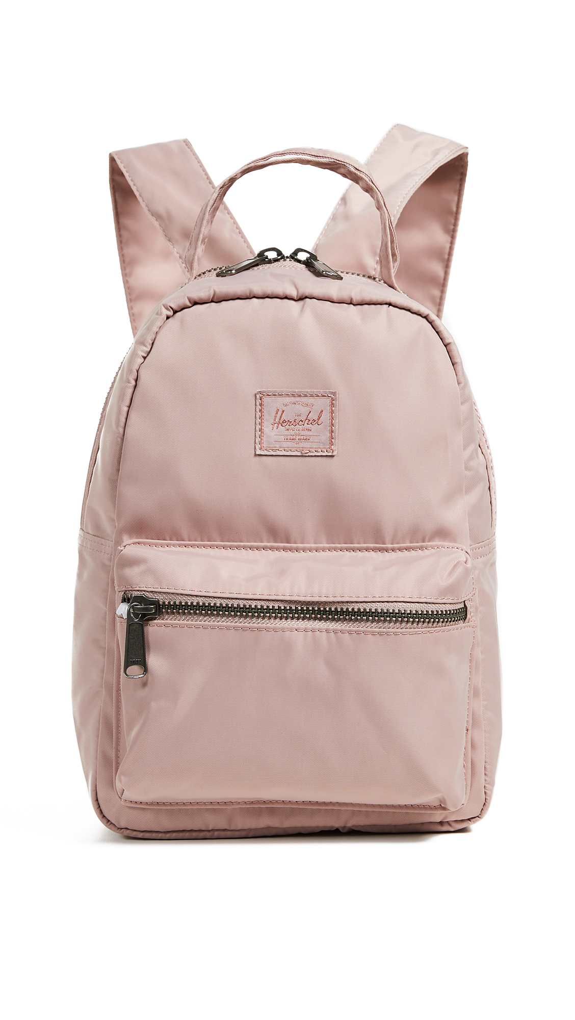 Flight Satin Nova Mini Backpack, Ash Rose