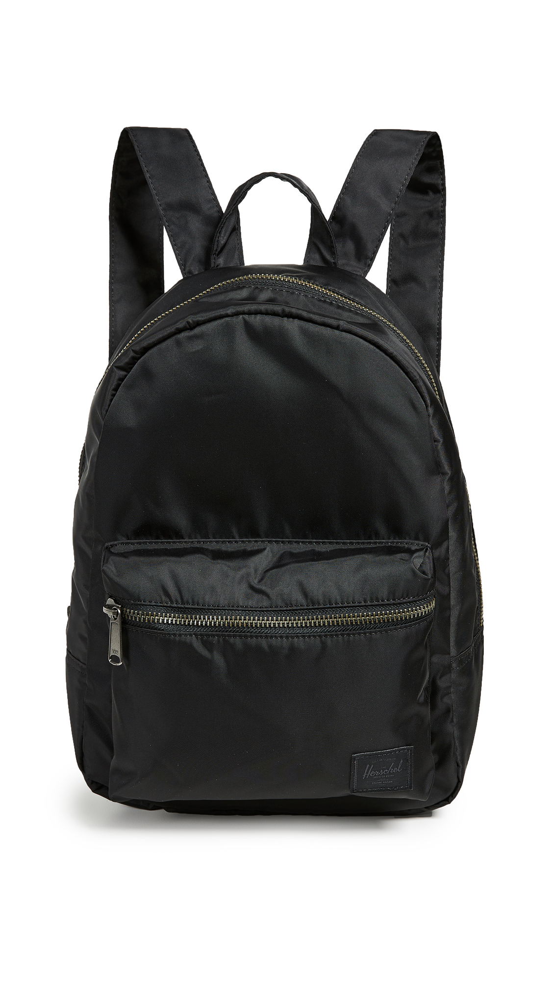 Flight Satin Grove X Small Backpack in Black