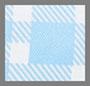голубая аляска в клетку гингем