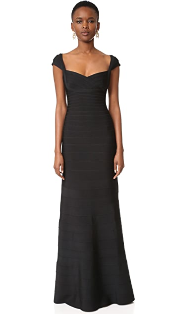 Herve Leger Leila Gown