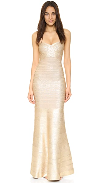 Herve Leger Sara Gown