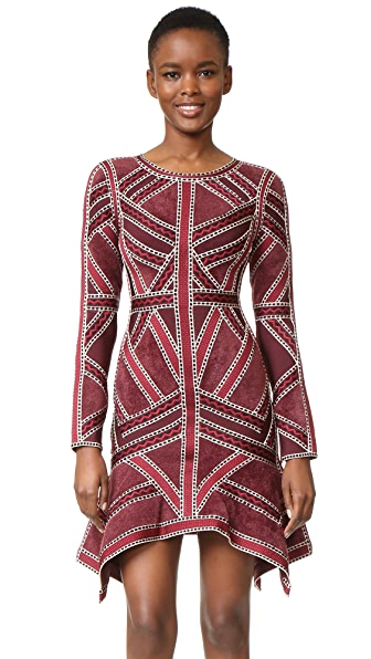 Herve Leger Carlotta Dress