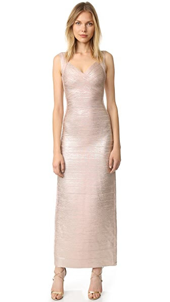 Herve Leger Estrella Maxi Dress