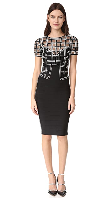 Herve Leger Tiana Dress