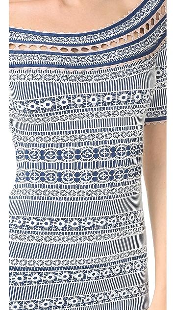 Herve Leger Lacey Dress