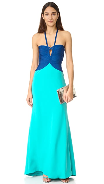 Herve Leger Annabelle Maxi Dress