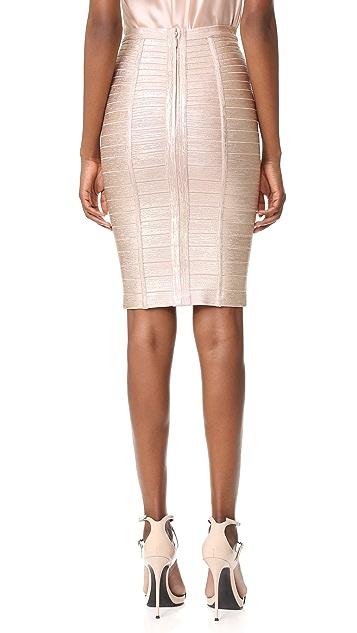 Herve Leger Pencil Skirt
