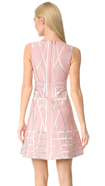 Herve Leger Jasmine Flare Dress