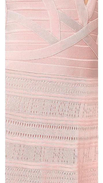 Herve Leger Meloddie Dress