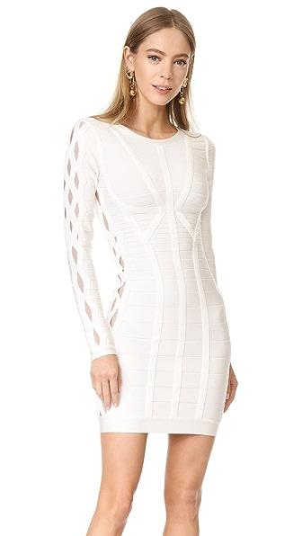 Herve Leger Breanna Knit Dress