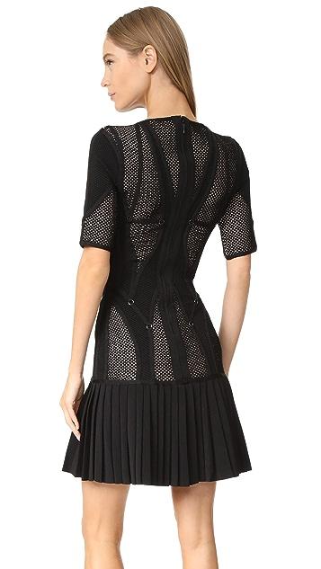 Herve Leger Kristin Knit Dress