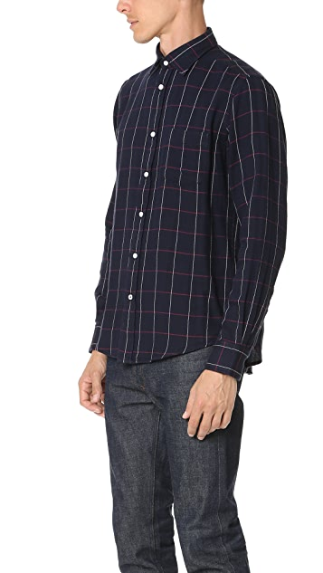 Hartford Paul Check Shirt