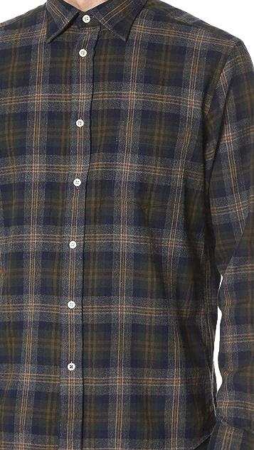 Hartford Paul Plaid Shirt