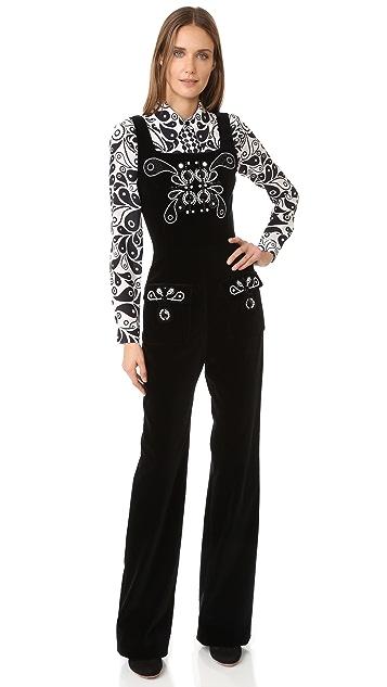 Holly Fulton Crystal Jumpsuit