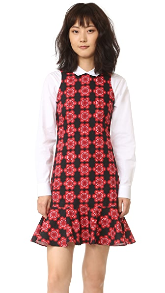 Holly Fulton Print Shift Dress at Shopbop