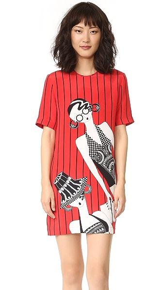 Holly Fulton Платье-футболка с принтом