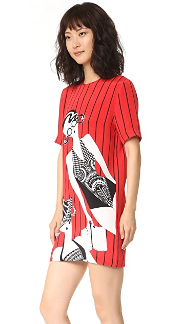 Holly Fulton Print T-Shirt Dress