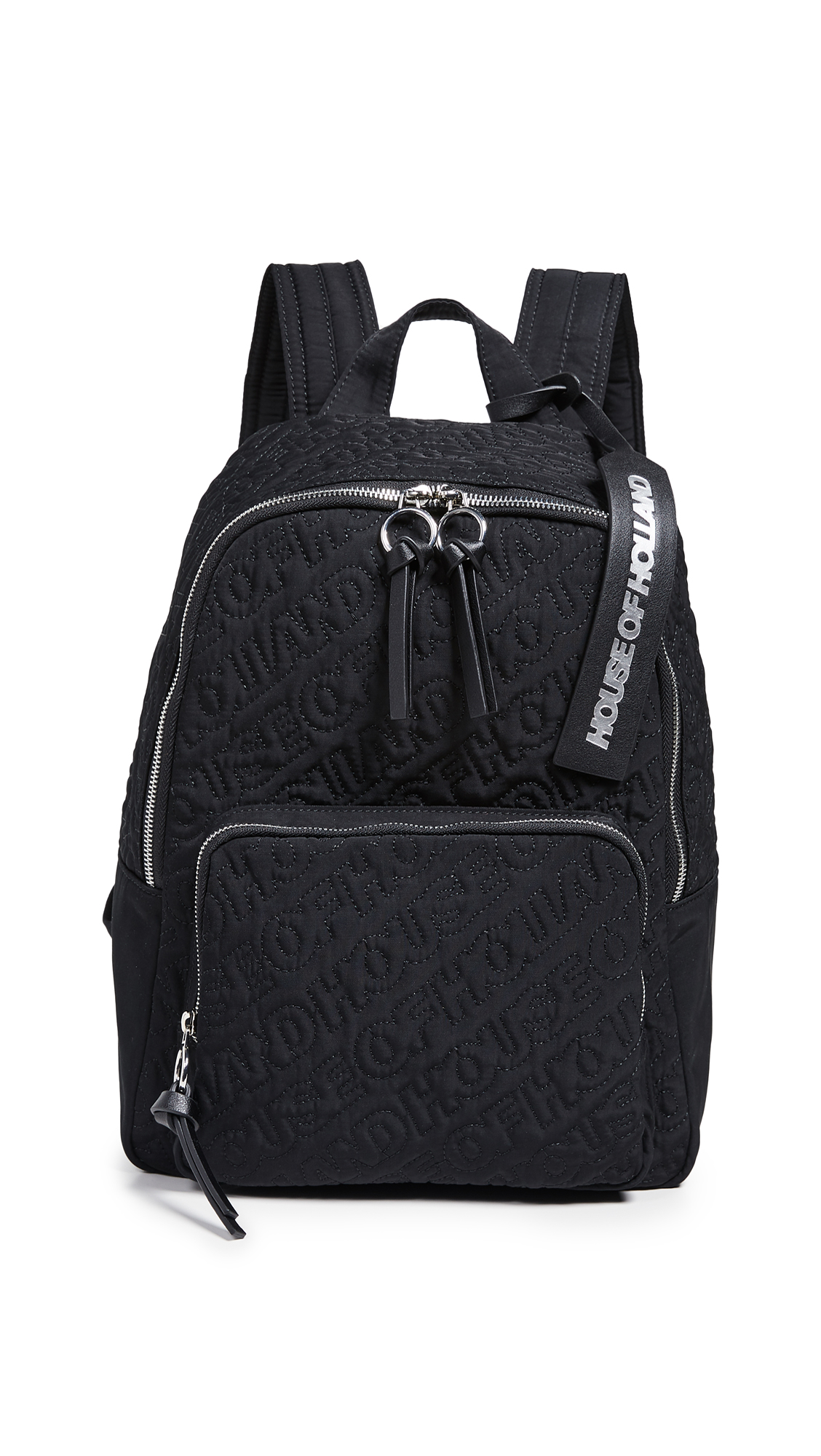 HOUSE OF HOLLAND | House of Holland Embroidered Backpack | Goxip