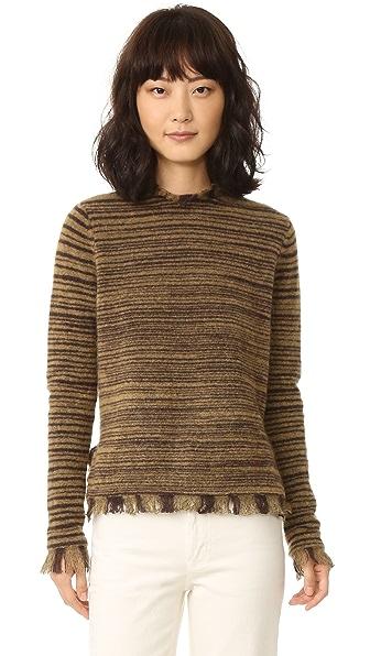 Intropia Fringe Sweater