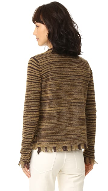 Intropia Fringe Sweater