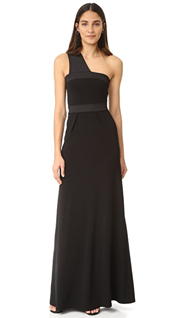Intropia One Shoulder Gown