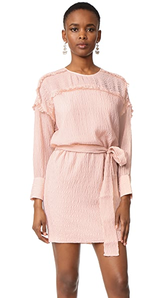Intropia Long Sleeve Belted Dress