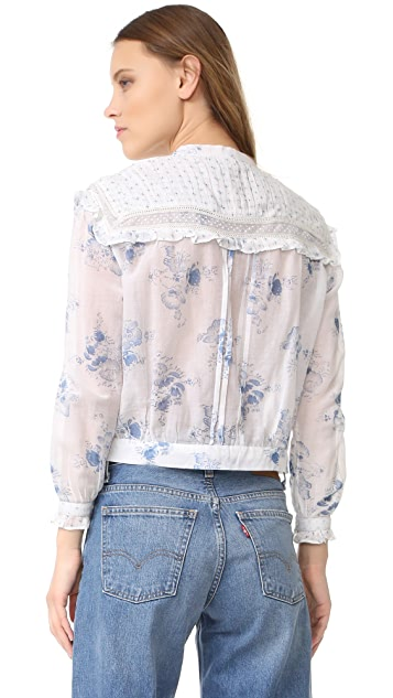 Intropia Floral Blouse