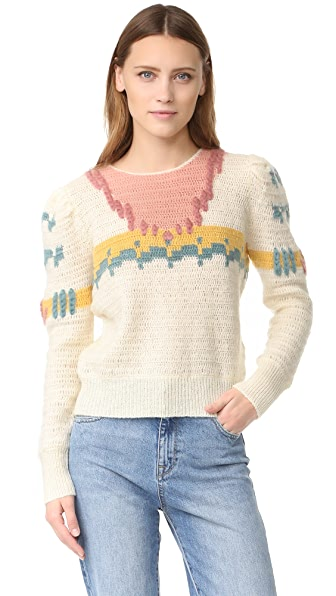 Intropia Printed Sweater - Multicolor
