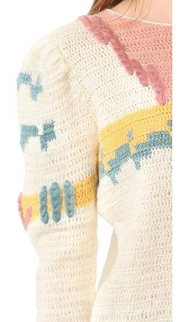 Intropia Printed Sweater