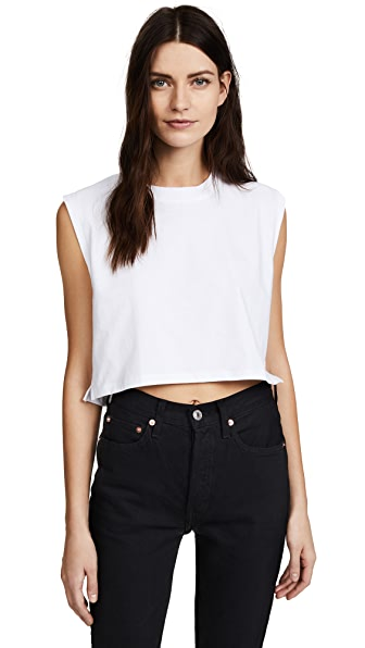 HANES X KARLA THE SLEEVELESS CROP TANK