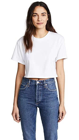 HANES X KARLA THE CROP TEE