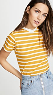 x karla The Stripe Crew Tee
