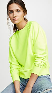 d4e2b620b25 Hanes x Karla. The Crew Sweatshirt. $88.00 $88.00 $88.00. Neon Yellow
