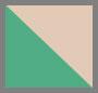 Cadmium Green/Cameo Rose