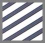 Black Iris/White Stripe