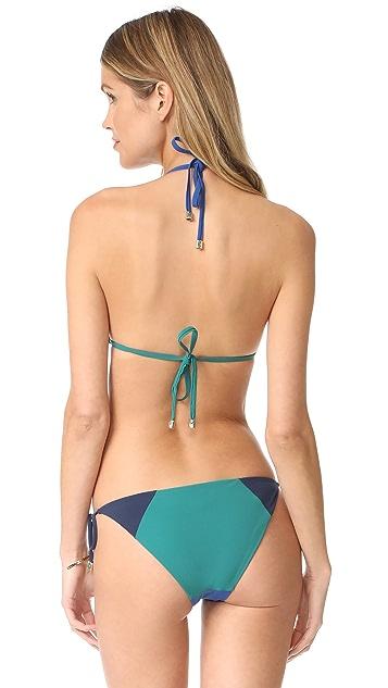 Heidi Klum Savannah Sunset Triangle Bikini Top