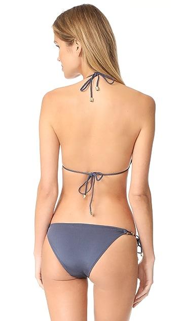Heidi Klum Sun Muse Shimmer Bikini Top