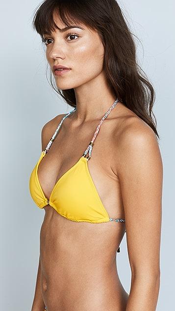 Heidi Klum Sun Muse Triangle Bikini Top