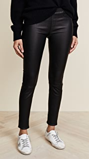 Helmut Lang Stretch Leather Pants