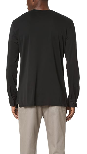 Helmut Lang Helmut Collarless Pullover