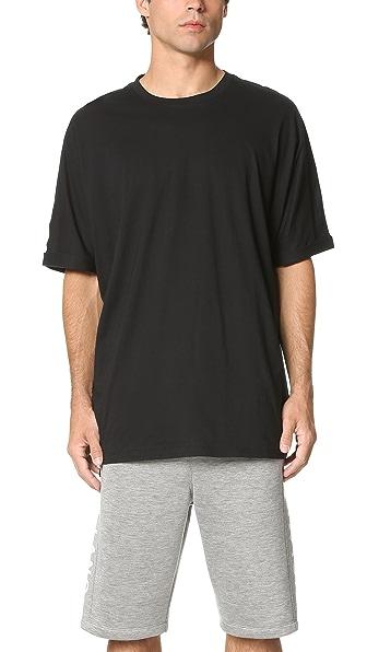Helmut Lang Oversized Uni Sleeve Whisper Jersey