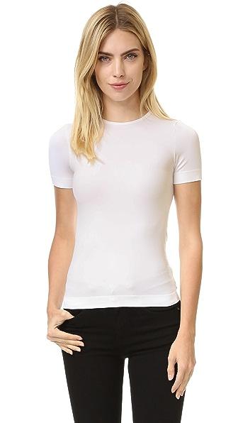 Helmut Lang Short Sleeve T Shirt - Optic White